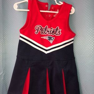PATRIOTS CHEERLEADER APPAREL DRESS TODDLER